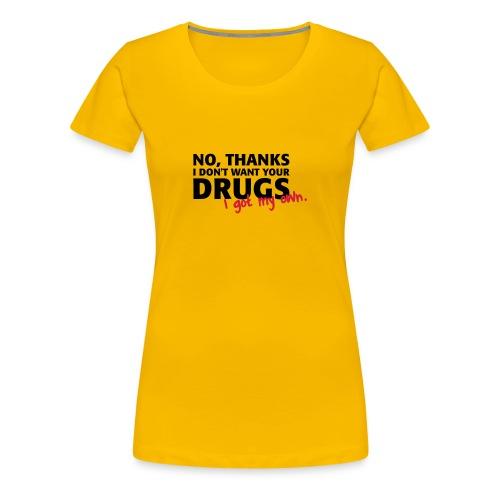 SHiRTZ - Vrouwen Premium T-shirt