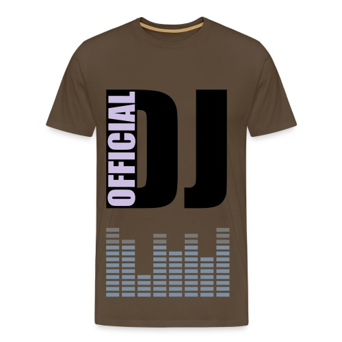 who's the deejay? - Mannen Premium T-shirt