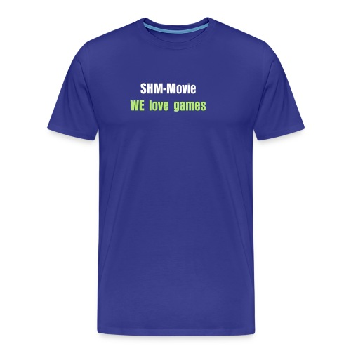 SHM-Movie we love games tröja - Premium-T-shirt herr