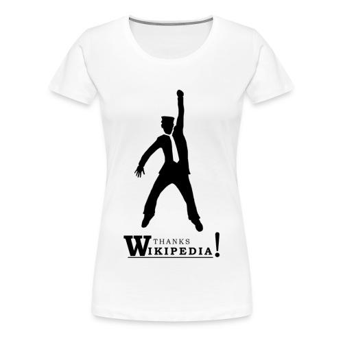 Thanks ! - Naisten premium t-paita