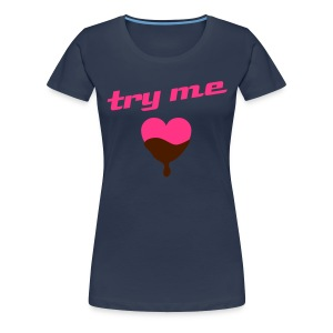 Try me (L) - Women's Premium T-Shirt