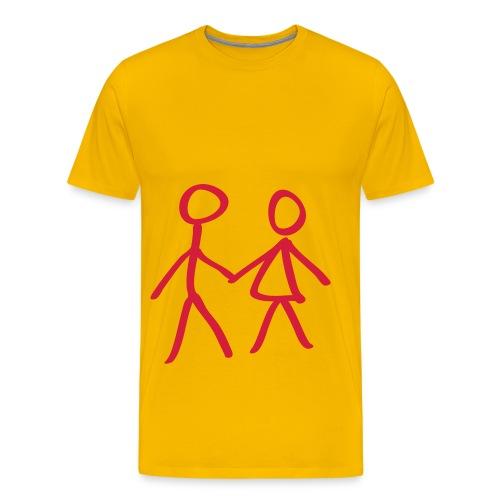 Amistat - Camiseta premium hombre