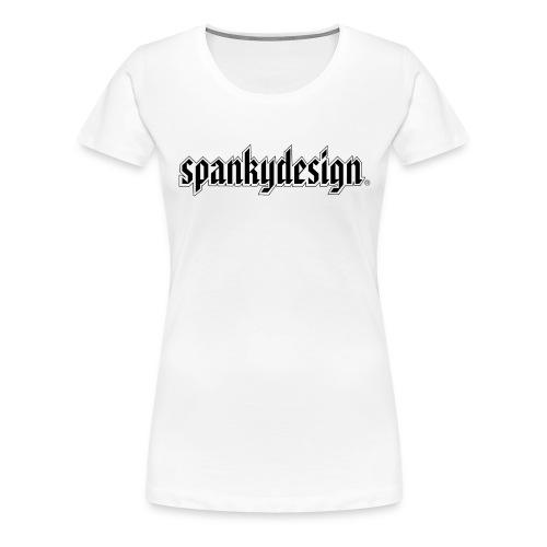Spankydesign for the ladies - Premium T-skjorte for kvinner