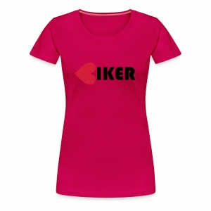 Biker - Women's Premium T-Shirt