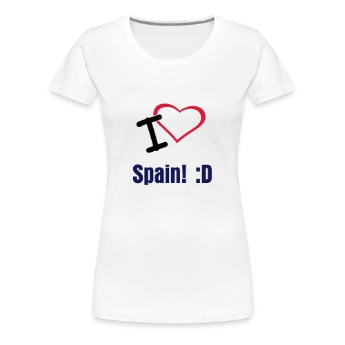 I Love Spain - Women's Premium T-Shirt