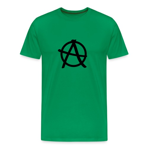 ANARCHY LOGO TEE - Men's Premium T-Shirt