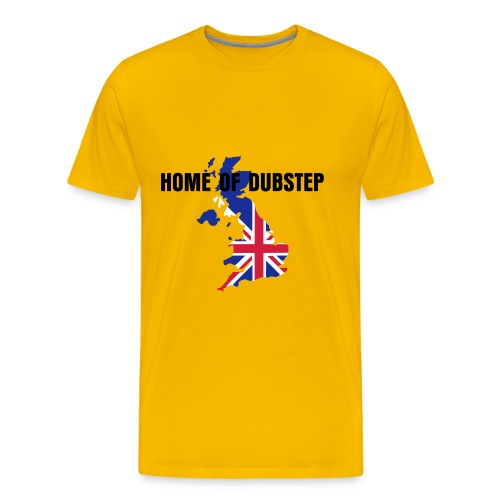 HOME OF DUBSTEP - Men's Premium T-Shirt