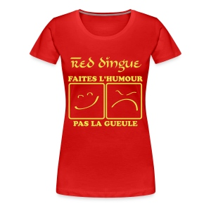 Red dingue - T-shirt Premium Femme