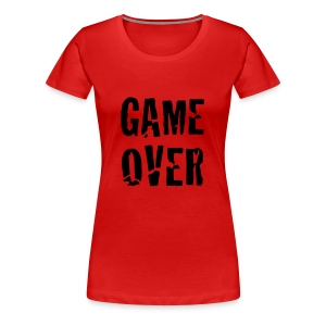 Game Over T-Shirt - Camiseta premium mujer
