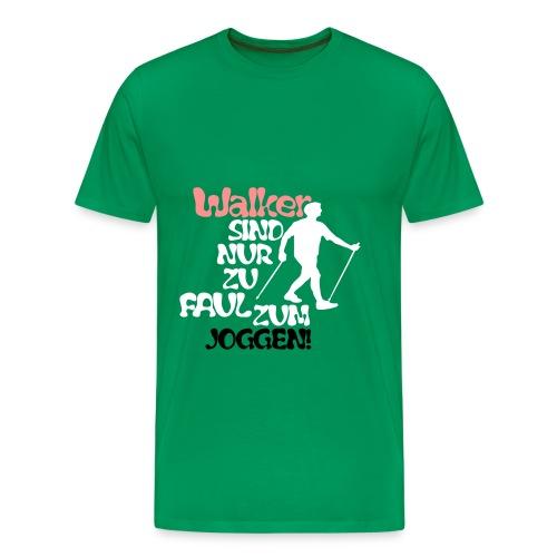 Walker - Männer Premium T-Shirt
