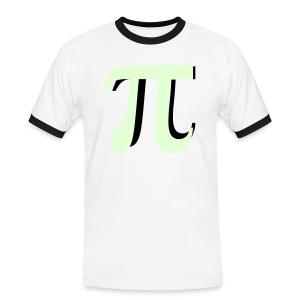 Pi glow in the dark - Mannen contrastshirt