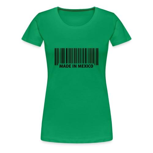 Womens - Barcode - Women's Premium T-Shirt