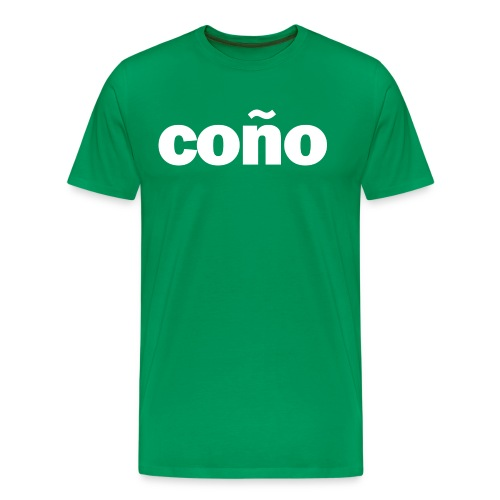 Conjo - Groen - Mannen Premium T-shirt