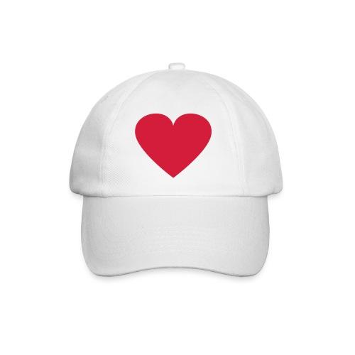 Baseball Cap Heart - Baseball Cap