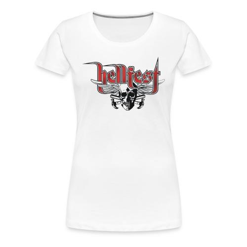 HELLFEST Girlie - Frauen Premium T-Shirt