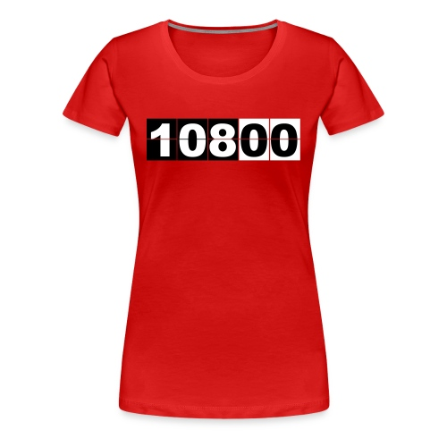 Camiseta Lost, 108 minutos - chica manga corta - Camiseta premium mujer