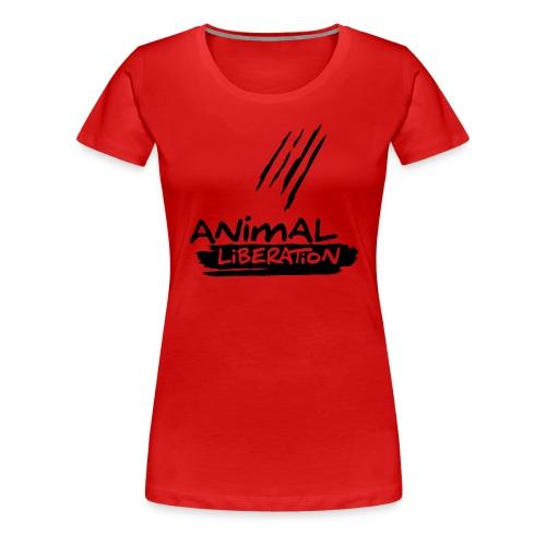 Womens Shirt 'Animal Liberation' BL - Frauen Premium T-Shirt