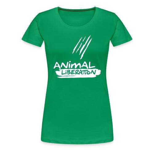 Womens Shirt 'Animal Liberation' WG - Frauen Premium T-Shirt