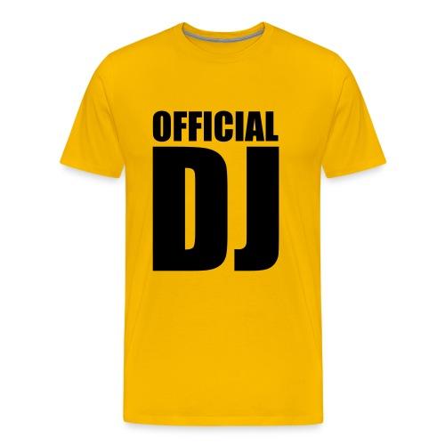 OFFICIAL DEEJAY - Men's Premium T-Shirt
