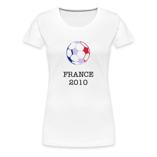 Womens - Tricolour Football - Women's Premium T-Shirt