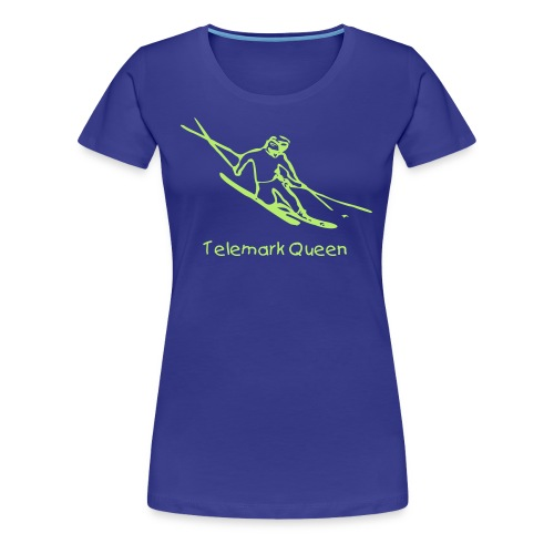 Telemark Queen Women's Girlie Shirt - Women's Premium T-Shirt
