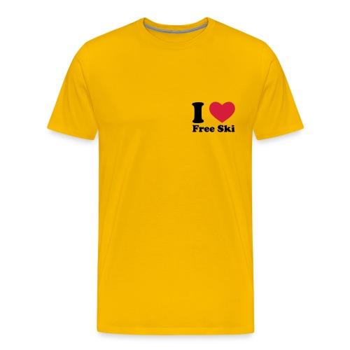Love''Ski'' - Koszulka męska Premium