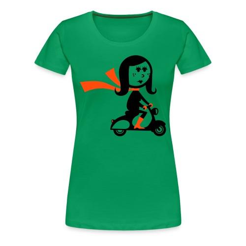 Scooterist - Camiseta premium mujer