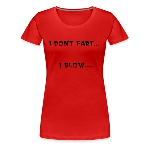 Womens Joke T-Shirt - Women's Premium T-Shirt