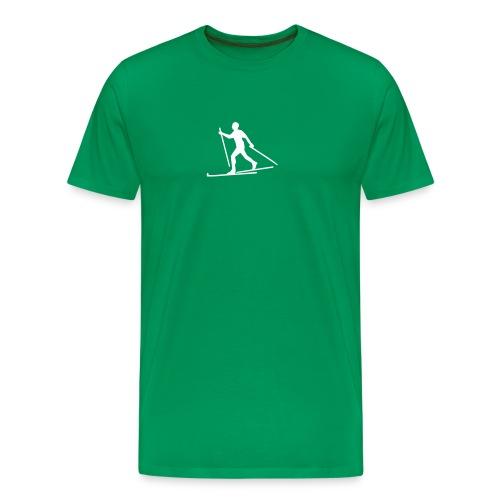 V20 Grønn - Premium T-skjorte for menn