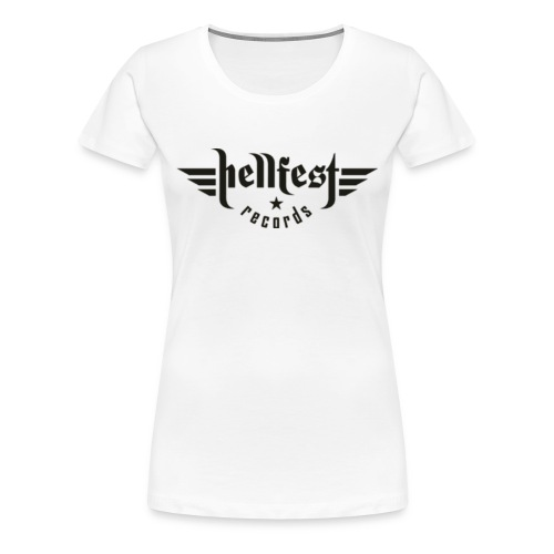 HELLFEST RECORDS GIRLIE - Frauen Premium T-Shirt