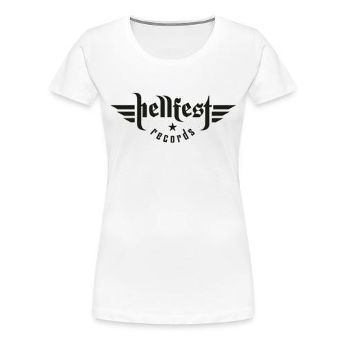 HELLFEST RECORDS GIRLIE - Frauen Premium T-Shirt