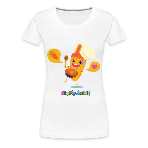 T-shirt le carotte cake de Pinpin - T-shirt Premium Femme