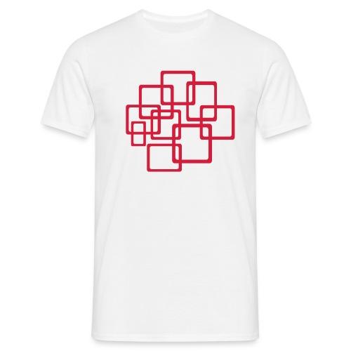 Squares - Männer T-Shirt