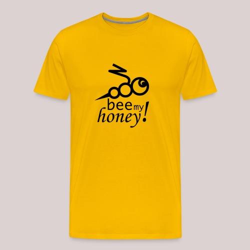 bee my honey - Sei mein Liebling (Biene)  - Männer Premium T-Shirt