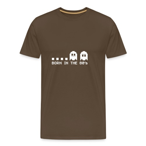 Born in the 80s - Ghosts - Men's Premium T-Shirt