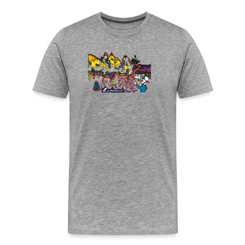 Ben Graffi - Ash - Men's Premium T-Shirt