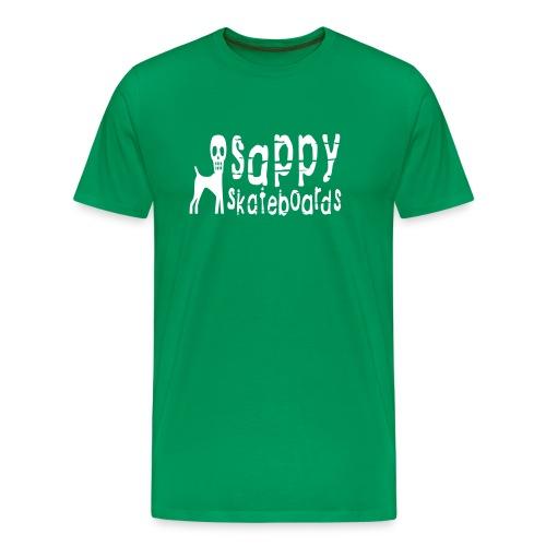 sappy original tee green - Premium-T-shirt herr