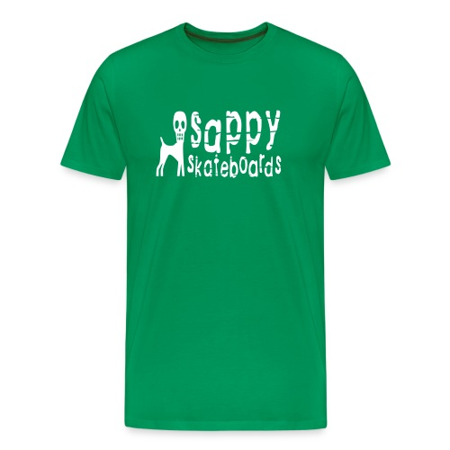 sappy original tee green - Premium-T-shirt herr