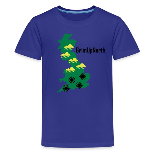 Northern Weather - Optimism - Teenage Premium T-Shirt