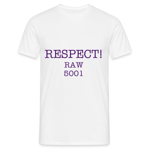 Respect Fra 99 Work - Herre-T-shirt