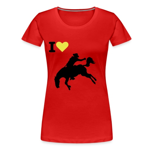 AMO A LOS CABALLOS - Camiseta premium mujer