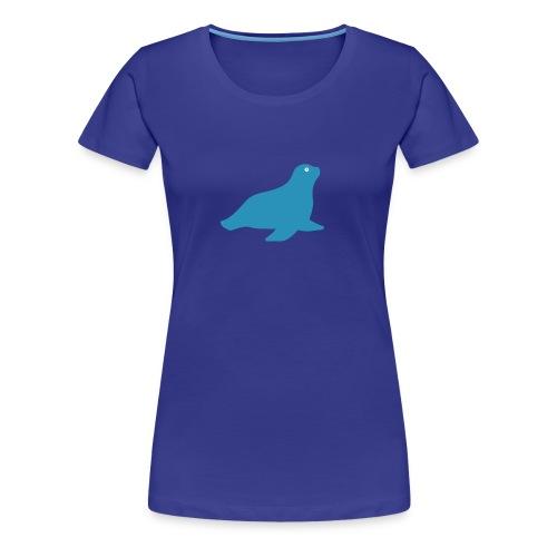 Seehund-Shirt - Frauen Premium T-Shirt