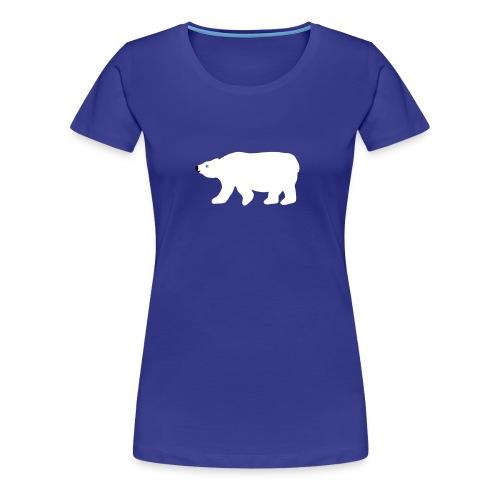 Eisbär-Shirt - Frauen Premium T-Shirt