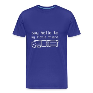 Say hello to my little friend - T/W - Men's Premium T-Shirt
