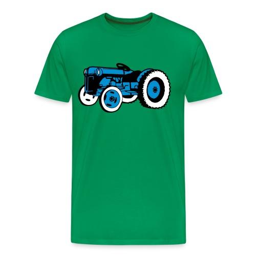 Blåtass herreskjorte - Premium T-skjorte for menn