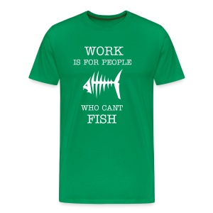Work green - Premium-T-shirt herr