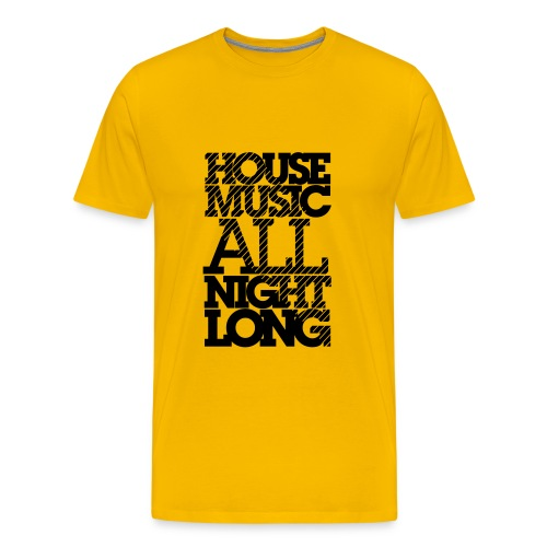 The house Collection - All night long - Men's Premium T-Shirt