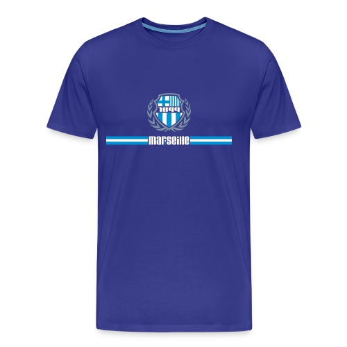 T-shirt Premium Homme - Ultra,Supporter,Provence,OM,Marseille,Foot,Ballon