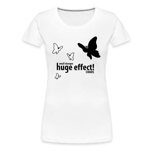 Chaos | Zwart | V - Vrouwen Premium T-shirt
