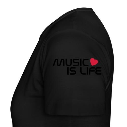 T-Shirt music - Frauen T-Shirt